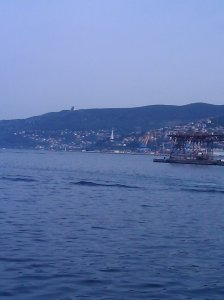 Looking across the Bay of Muggia