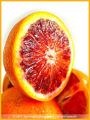 """Blood Oranges - Up Close"" - by ""bossacafez"" on Flickr."