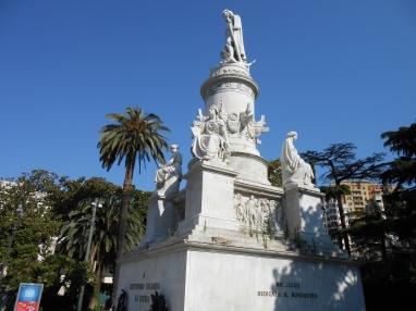 Statua di Cristoforo Colombo, Genova